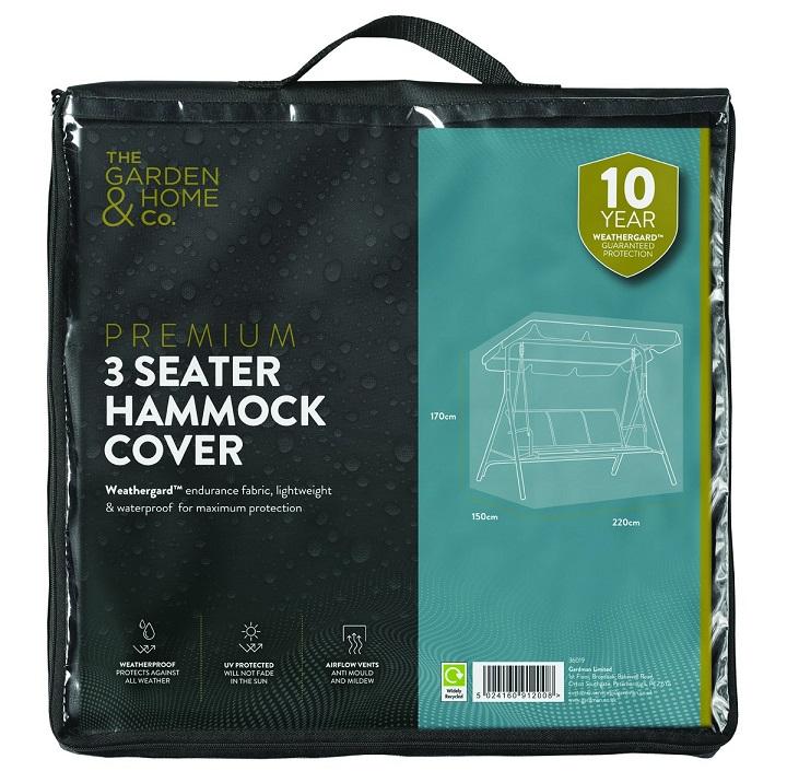 Premium Hammock Cover Green 3 Seater Furniture Cover